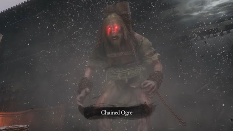 SEKIRO SHADOWS DIE TWICE - Chained Ogre