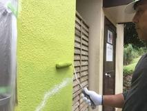 上塗り塗布