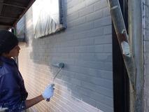 下地調整塗材塗布