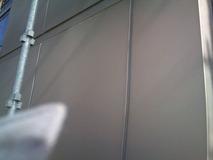 アルミパネル壁塗装後