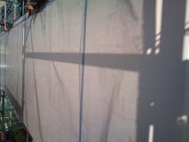 アルミパネル壁塗装前