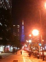 """""""SUMURAI BLUE""""TOKYO TOWER"""