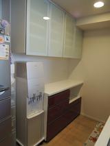 千葉県のお客様のオーダー食器棚!