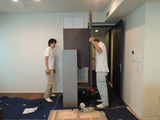 上野のマンションのモデルルーム!
