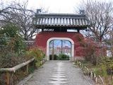 石峰時・表門より見渡す龍谷大学