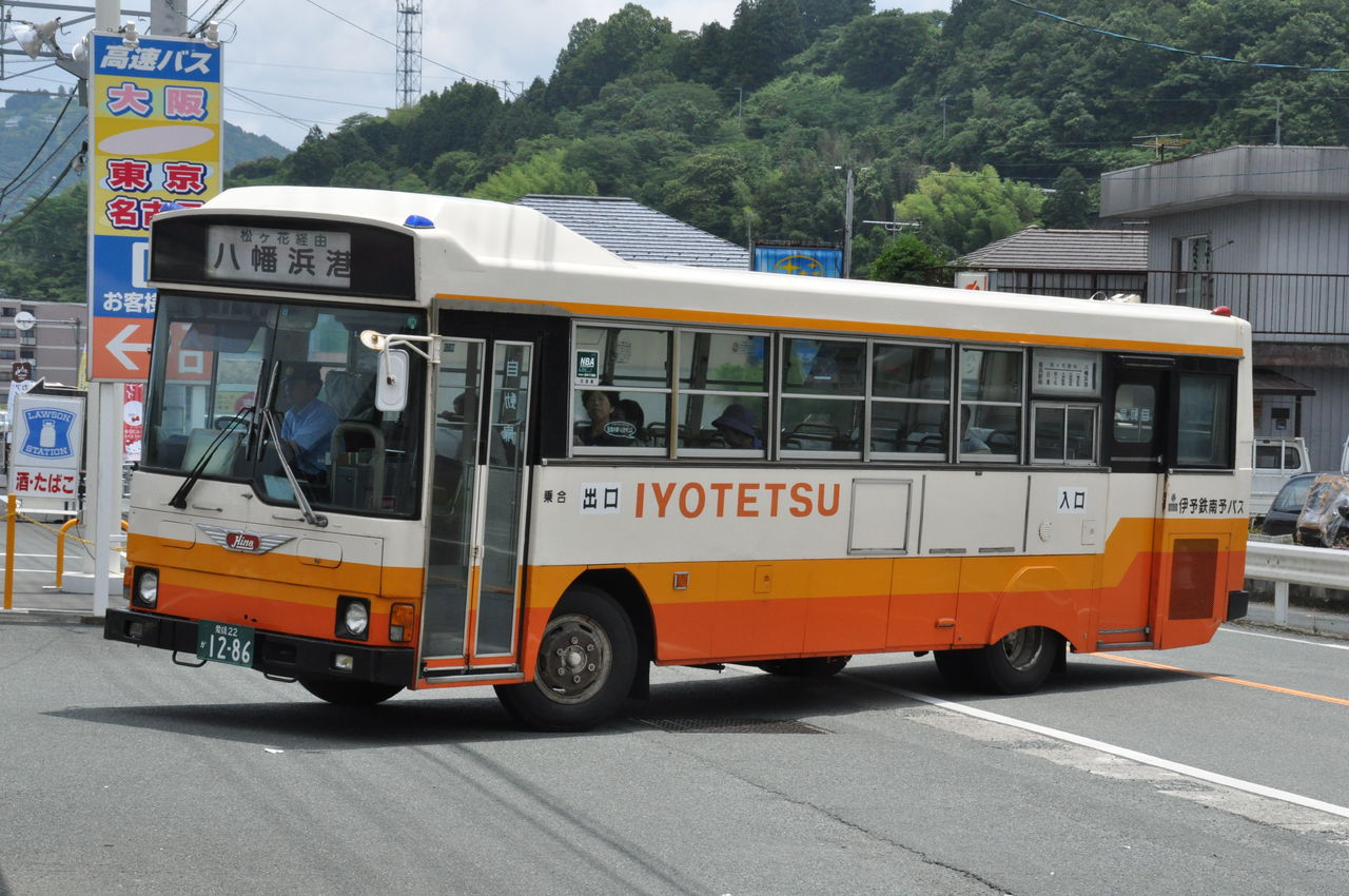 伊予鉄南予バス