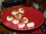 手まり寿司たち
