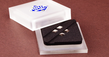 日本製高級鋼を採用した金属製「メタルマウスソール 菱-BISHI-」各3種が発売へ