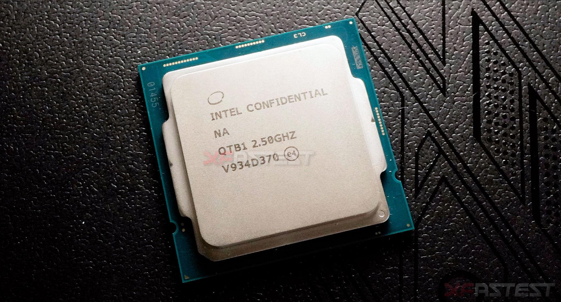 Intel Core i9-10900(ES)10コアプロセッサーの写真
