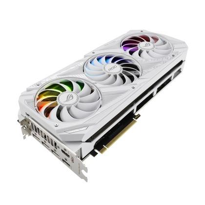 ASUS、白いGeForce RTX 30シリーズグラフィックスカードを発売