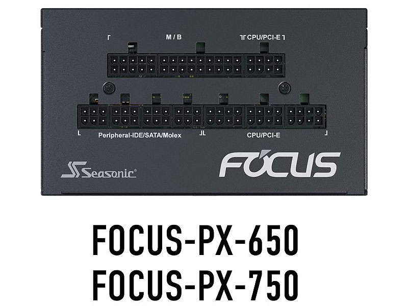 Seasonic製 80PLUS GOLD認証電源 FOCUS GX/GMシリーズやPlatinum認証 FOCUS PXシリーズの話題