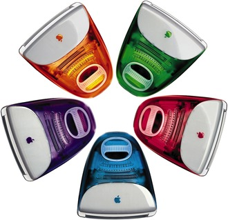カラフルiMacを5台揃えた人っているの?