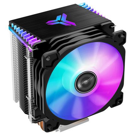 JONSBO、92mm RGBファン搭載のコンパクトなサイドフローCPUクーラー「CR1400COLOR」を発表