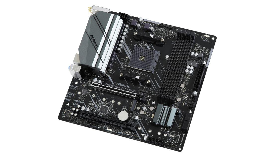 ASRockのB550AM-GamingマザーボードはPCI-Express 4.0とBeefy VRMを搭載