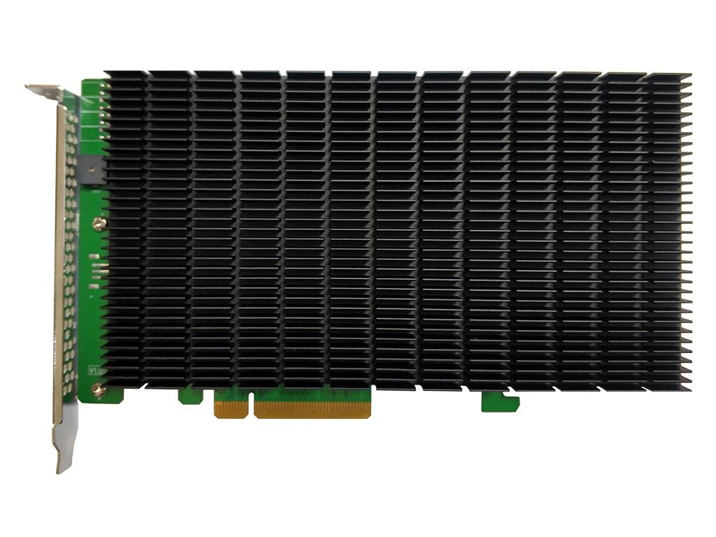 4枚のNVMe M.2 SSDを搭載できるファンレス変換カード、HighPoint「SSD7204」