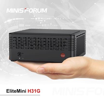 第9世代Intel CoreとNVIDIA GTX 1050Tiを搭載する世界最小のミニデスクトップPC「H31G」