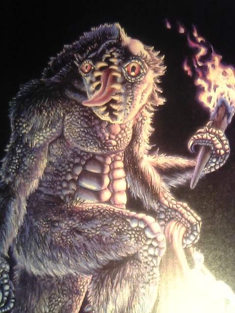 クトゥルフ神話~地下世界の生物(ガグ)