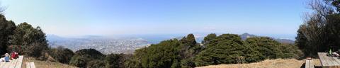 8-2_足立山山頂パノラマ