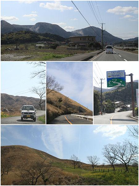 1_平尾台道中