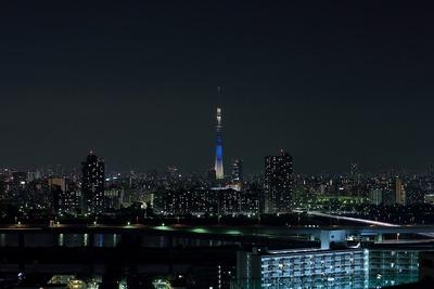 東京スカイツリー七夕特別ライティング「七夕」