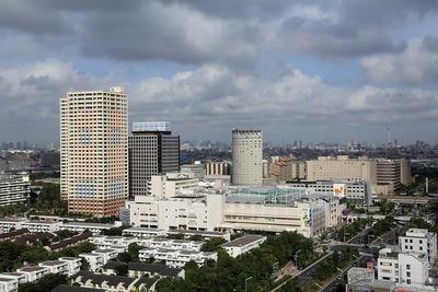 ホテルエミオン東京ベイの19階から見た新浦安