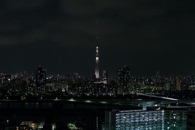 東京スカイツリー開業2周年記念特別ライティング『雅』