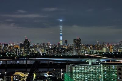 千葉県をイメージした特別ライティング