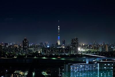 東京スカイツリーのハッピーレインボー