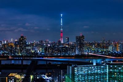 福島県をイメージした特別ライティング
