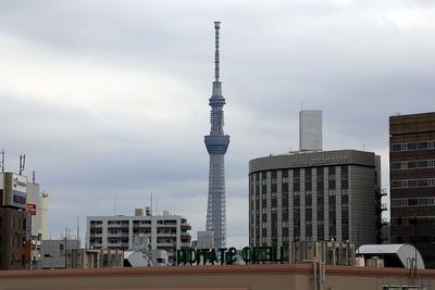 上野から見た東京スカイツリー