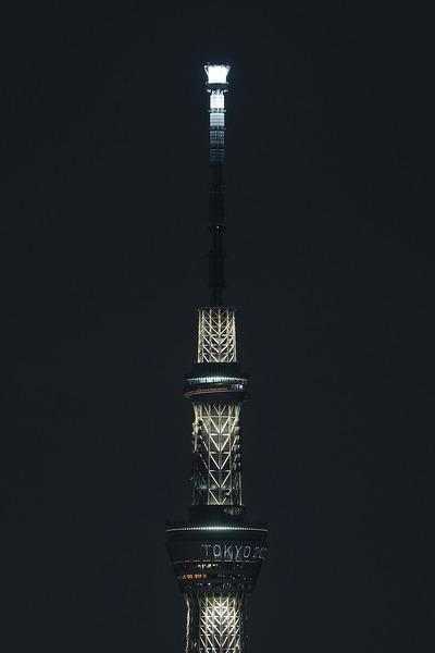 東京スカイツリー夜景「幟」