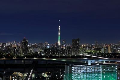東京スカイツリー「シャンパンツリー」