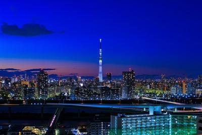 大晦日の東京スカイツリー