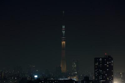 東京スカイツリー開業2周年記念特別ライティング『2020年東京オリンピックへ!』