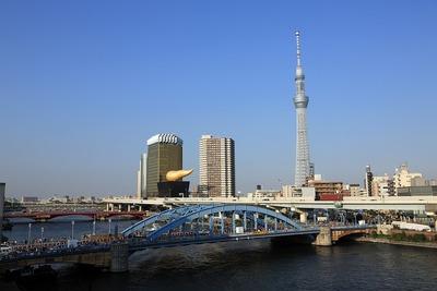 駒形橋と東京スカイツリー