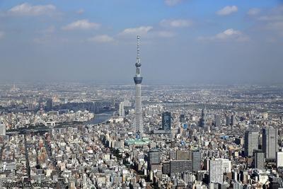 東京スカイツリー空撮