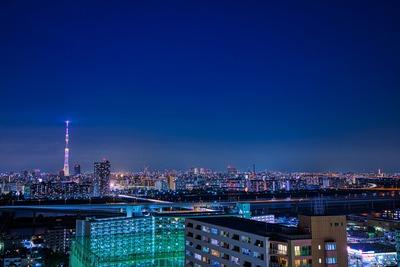 東京スカイツリー夜景