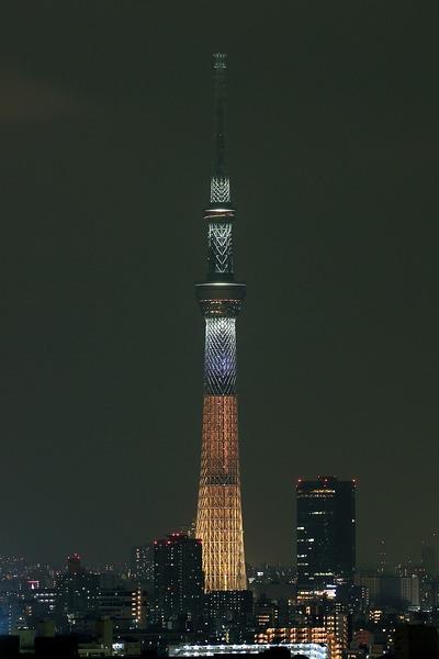 東京スカイツリー夜景「煌」