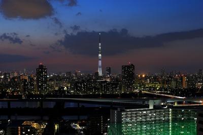 東京スカイツリー「白色のライティング」
