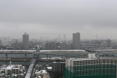 雪と東京スカイツリー