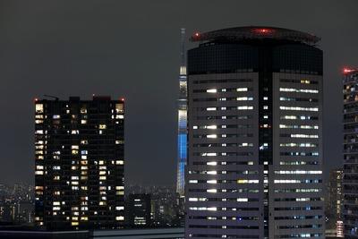 BAYZから見た東京スカイツリー