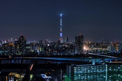 長野県をイメージした特別ライティング