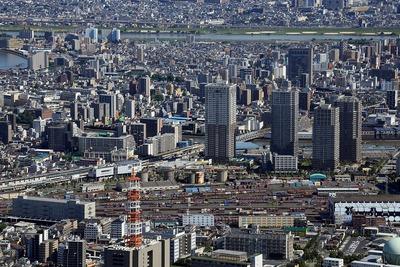 東京スカイツリーから見た南千住
