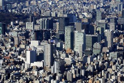 東京スカイツリーから見た秋葉原方面の眺め
