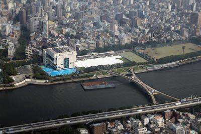 隅田川花火大会の第一会場