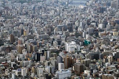 東京スカイツリーからの眺め