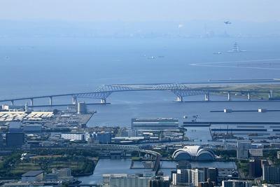 東京スカイツリーから見た東京ゲートブリッジ