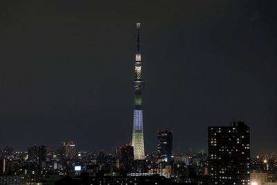 東京スカイツリー夜景「ゆり」
