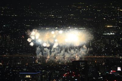 2012年の足立の花火