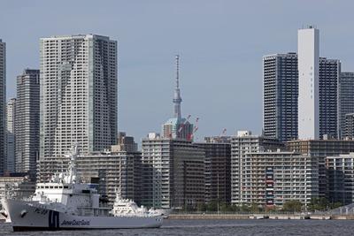 パラリンピックの選手村と東京スカイツリー